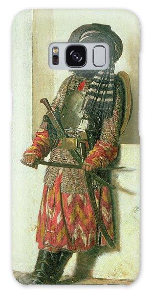 Turban Galaxy Case - Afghan, 1870 Oil On Canvas by Piotr Petrovitch Weretshchagin
