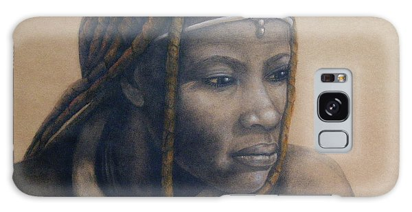 Afican Woman Galaxy Case