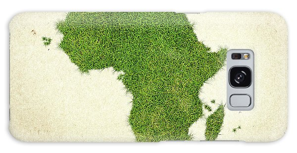 Recycle Galaxy Case - Africa Grass Map by Aged Pixel