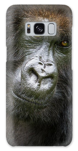 Africa Rwanda Female Mountain Gorilla Galaxy Case by Ralph H. Bendjebar