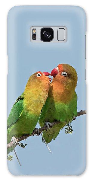 Lovebird Galaxy S8 Case - Africa, Tanzania, Serengeti by Charles Sleicher