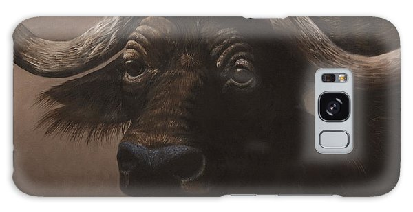 African Buffalo Galaxy Case