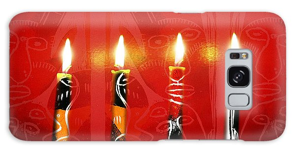 African Candles Galaxy Case