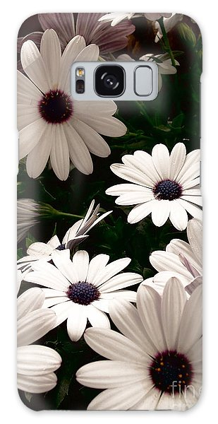 African Daisies Galaxy Case