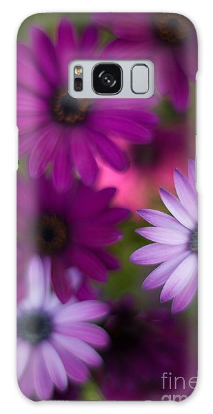 African Daisy Collage Galaxy Case