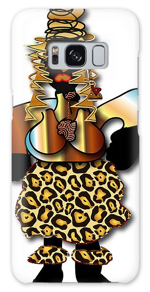 African Dancer 2 Galaxy Case by Marvin Blaine