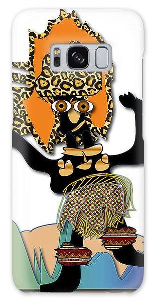 African Dancer 6 Galaxy Case by Marvin Blaine