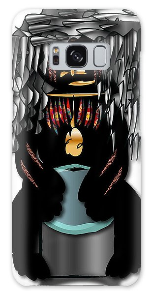 African Drummer 2 Galaxy Case by Marvin Blaine