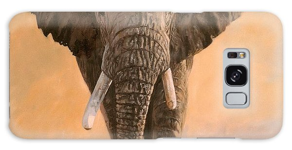 African Elephants Galaxy Case