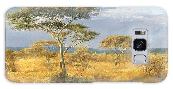 African Landscape Galaxy Case