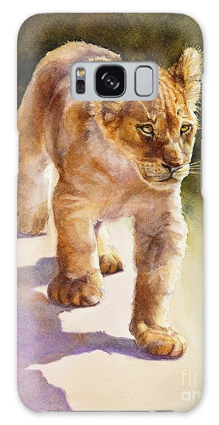 African Lion Cub Galaxy Case