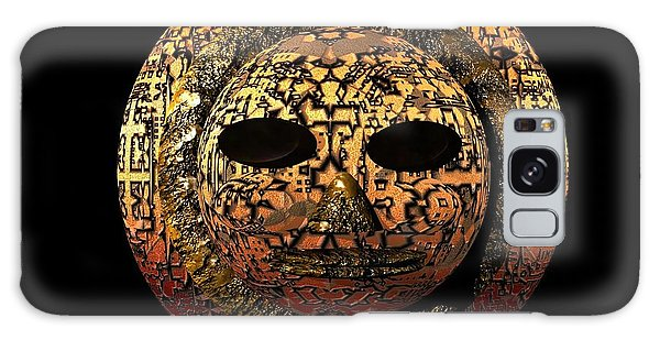 African Mask Series 1 Galaxy Case by Jacqueline Lloyd
