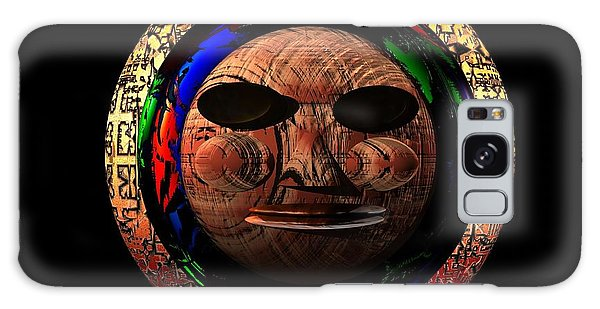 African Mask Series 2 Galaxy Case by Jacqueline Lloyd