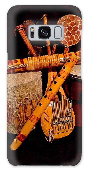 African Musical Instruments Galaxy Case