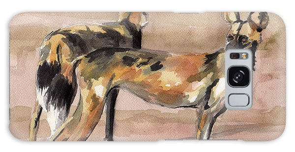 African Painted Dogs Galaxy Case