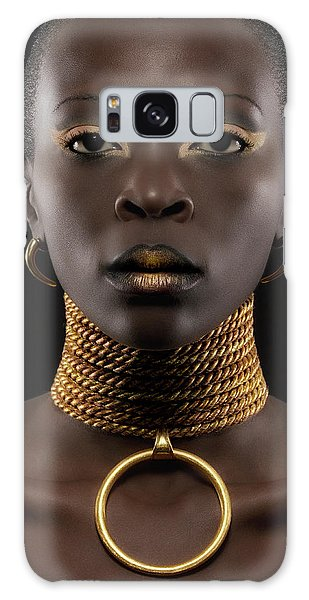 Earring Galaxy Case - African Queen by Maurice De Vries