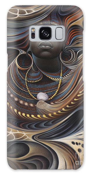 African Spirits I Galaxy Case