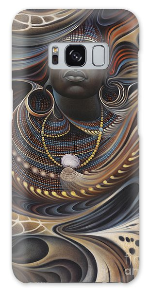 African Spirits I Galaxy Case