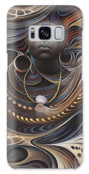 Earth Galaxy Case - African Spirits I by Ricardo Chavez-Mendez