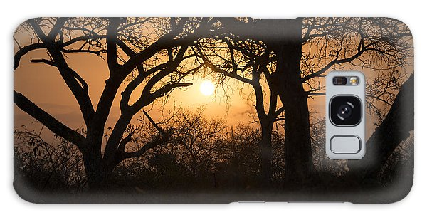 African Sunset Galaxy Case