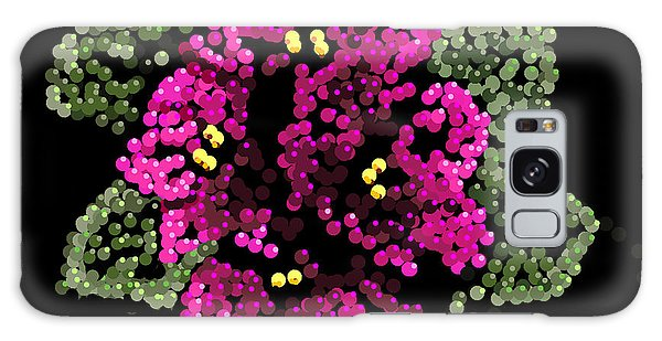 African Violets Bedazzled Galaxy Case