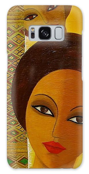 Afro Beauty Galaxy Case