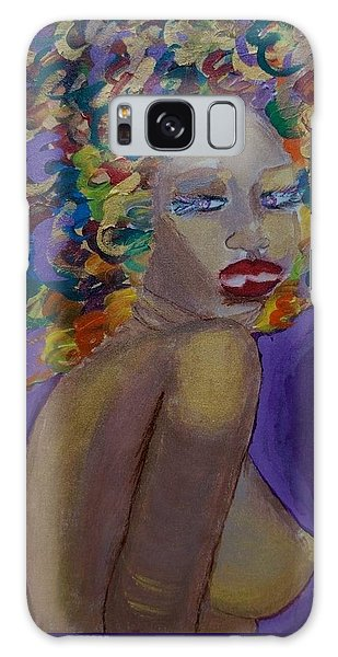 Afro-chic Galaxy Case