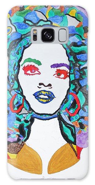 Afro Lauryn Hill  Galaxy Case by Stormm Bradshaw