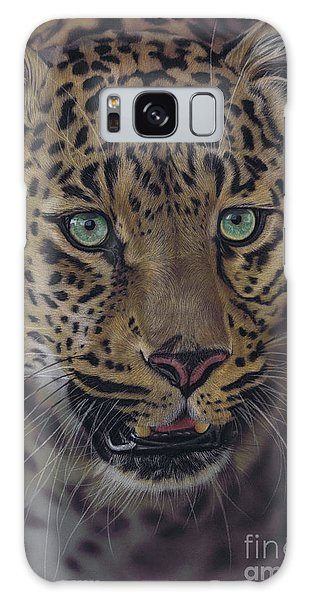 After Dark All Cats Are Leopards Galaxy Case