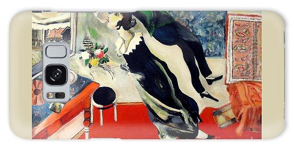 after Marc Chagall Galaxy Case by Jodie Marie Anne Richardson Traugott          aka jm-ART