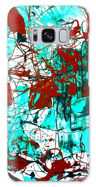 After Pollock Galaxy Case by Genevieve Esson