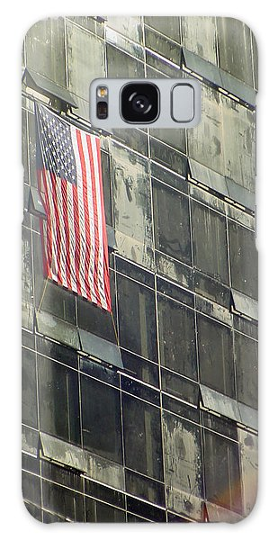 After Sep. 11 Flag On Millennium Hotel Galaxy Case