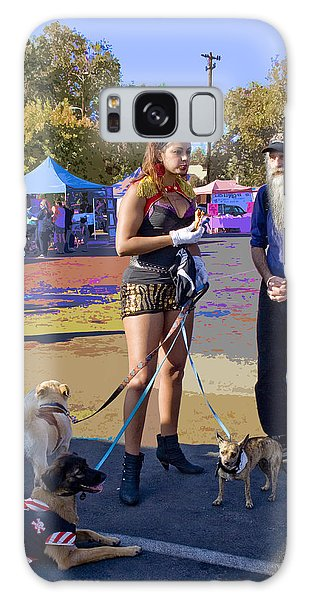 After The Halloween Dog Costume Contest Galaxy Case