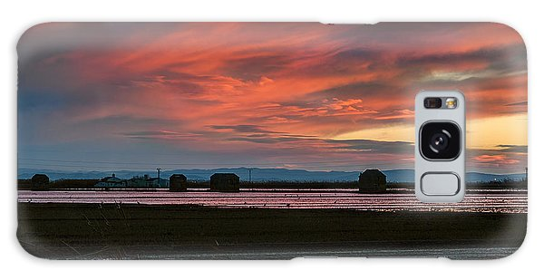After The Harvest. Albufera Lagoon Galaxy Case