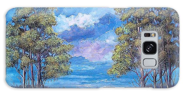 After The Rain Galaxy Case by Suzanne Theis