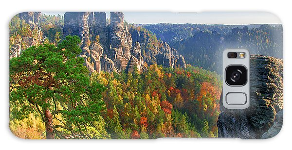 After The Sunrise On The Bastei Galaxy Case