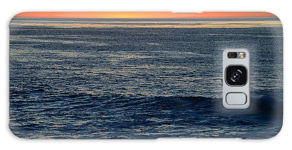 After The Sunset Glow In La Jolla Galaxy Case by Sharon Soberon