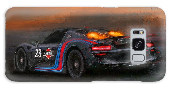 Afterburners On Galaxy Case by Alan Greene