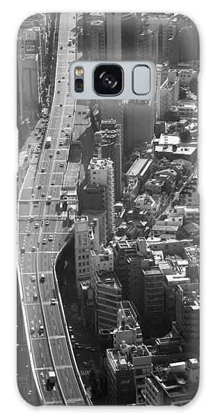 Galaxy Case featuring the photograph Afternoon Above Tokyo by Brad Brizek