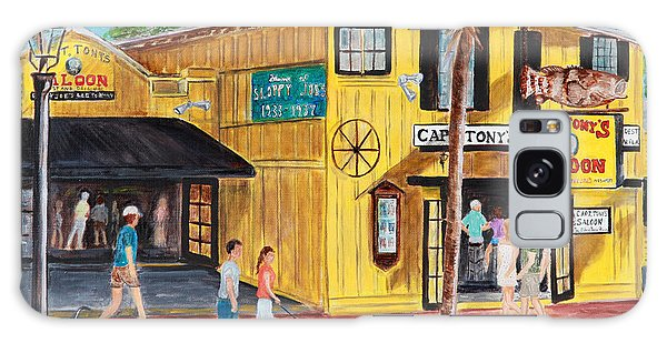 Afternoon At Capt. Tony's Galaxy Case