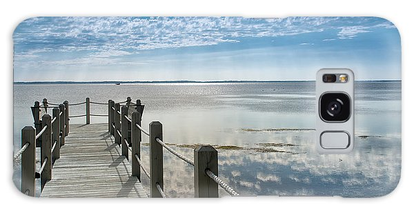 Afternoon At Currituck Sound Galaxy Case