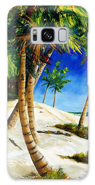 Afternoon Beach Walk Galaxy Case