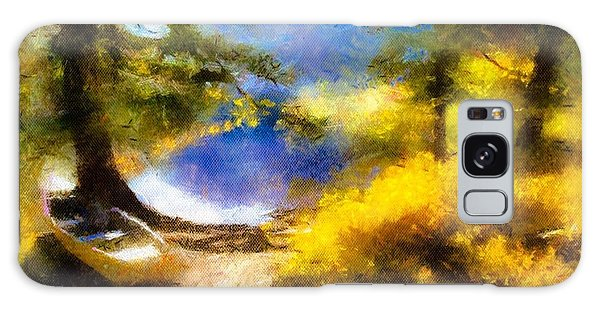 Afternoon On The Lake Galaxy Case by Teri Brown