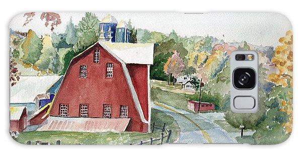 Pennsylvania - Agawam Barn Galaxy Case by Christine Lathrop