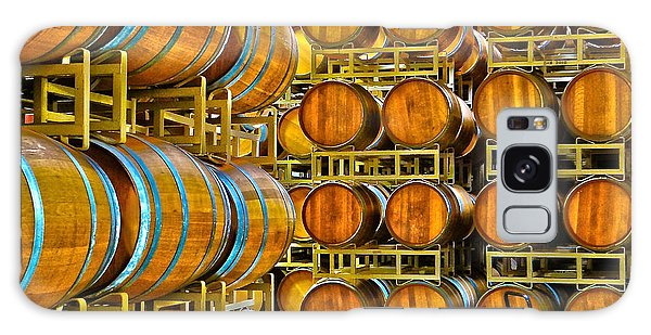 Aging Wine Barrels Galaxy Case