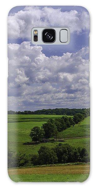 Wellsboro Galaxy Case - Agrarian Zig-zag by Brian Rojo