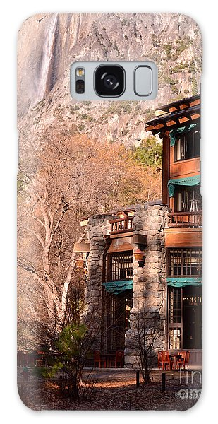 Ahwahnee And Yosemite Falls Galaxy Case