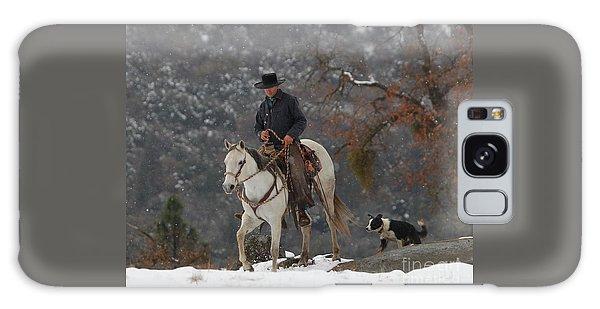 Ahwahnee Cowboy Galaxy Case