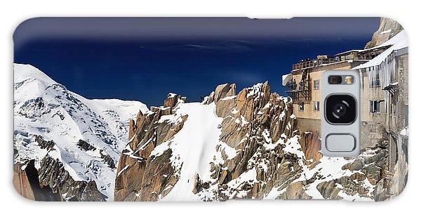 Aiguille Du Midi -  Mont Blanc Massif Galaxy Case