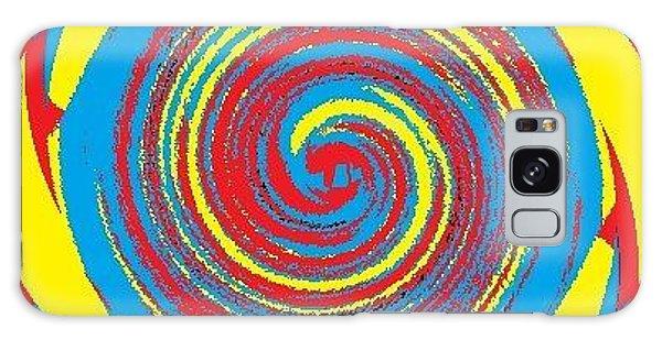 Aimee Boo Swirled Galaxy Case by Catherine Lott